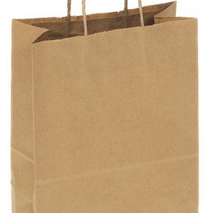 Kraft Paper Bag Medium Includes Twisted Paper Handle