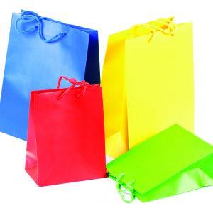 Paper bags custom printed