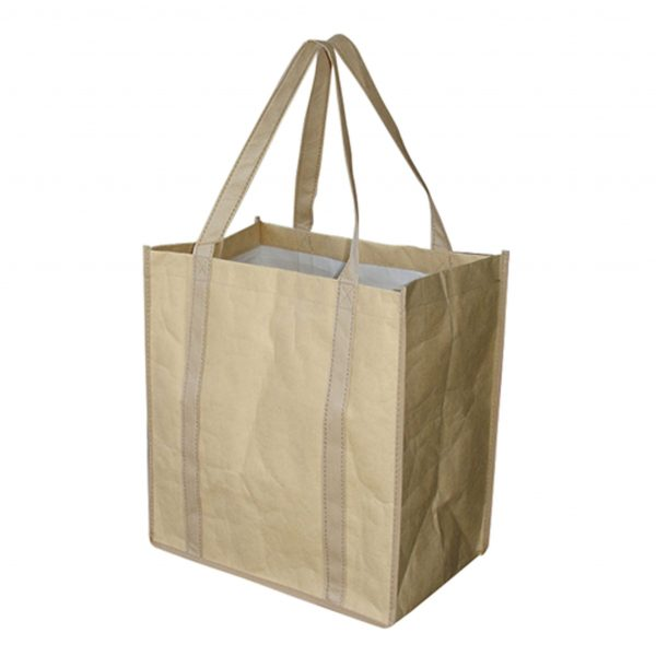 Paper Shopping Water Resistant Bag