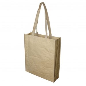 Paper Bag With Large Gusset Water Resistant
