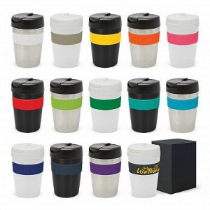 Java Reusable Hot Cold Coffee Vacuum Cup 340ml