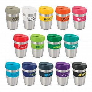 Express Reusable Hot Cold Coffee Cup Elite Silicone Band